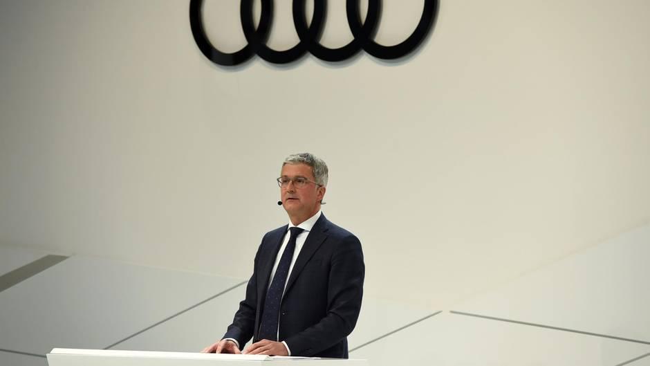Der Vertrag von Audi-Vorstandschef Rupert Stadler wurde bis 2022 verlängert
