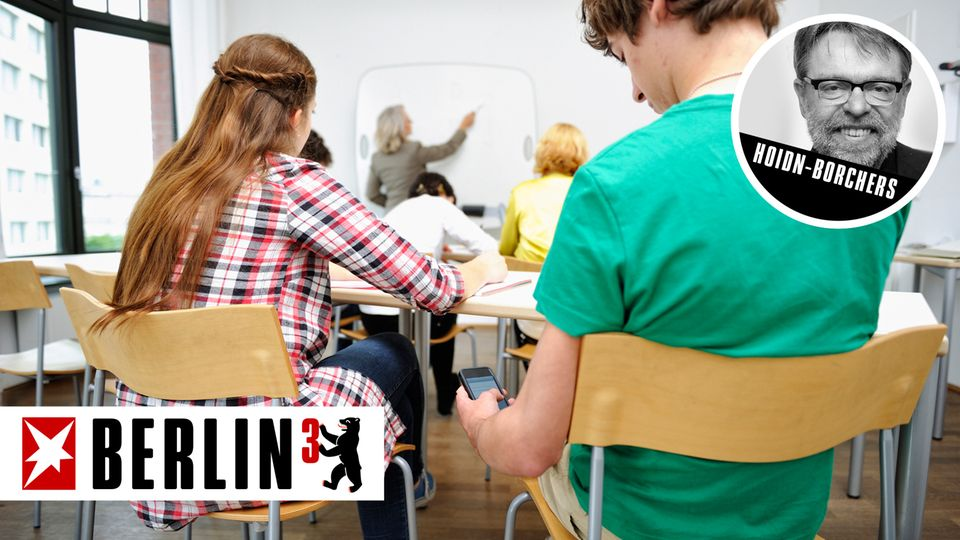 Berlin³: Gemein aber gerecht: Schule darf Handy übers Wochenende einkassieren