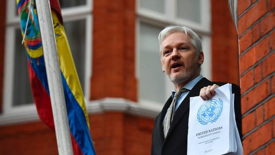 Bald wieder ein freier Mann: Zuletzt hatte sich Wikileaks-Gründer Julian Assange aus Angst vor einer Auslieferung in die Botschaft Ecuadors in London geflüchtet
