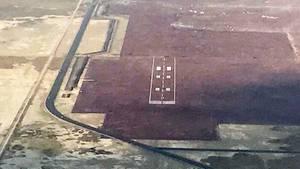 Zum Verwechseln ähnlich: Eine der Pisten des geplanten Flughafens von Mexico City.