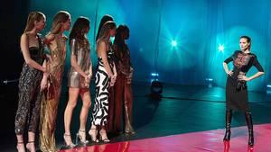 Nur vier Nachwuchskandidatinnen nahm Heidi Klum mit ins GNTM-Finale