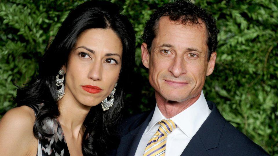 Huma Abedin und Anthony Weiner