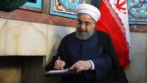Hassan Ruhani ist alter und neuer Staatspräsident des Iran