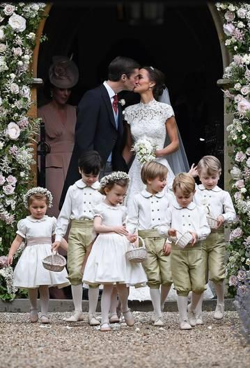 Hochzeit Von Pippa Middleton Die Schönsten Bilder Der Trauung