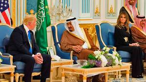 Trump in Saudi-Arabien
