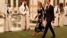 Ivanka Trump mit ihrem eigentlichen Ehemann Jared Kushner