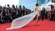 Model Kendall Jenner auf dem roten Teppich