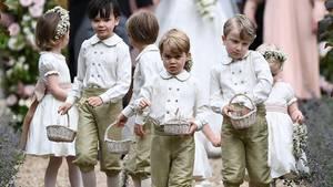 Prinz George bei der Hochzeit von Pippa Middleton