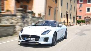 Jaguar F Type 400 Sport Cabrio AWD - offen wie geschlossen ein Spaßmacher