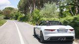 Jaguar F Type 400 Sport Cabrio AWD - unverändert das Heck
