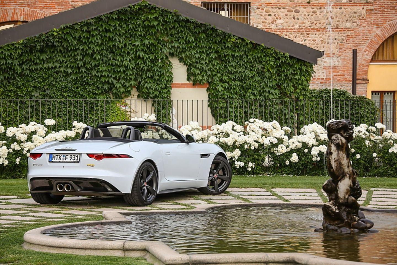 Jaguar F Type 400 Sport Cabrio AWD - unterwegs in Norditalien
