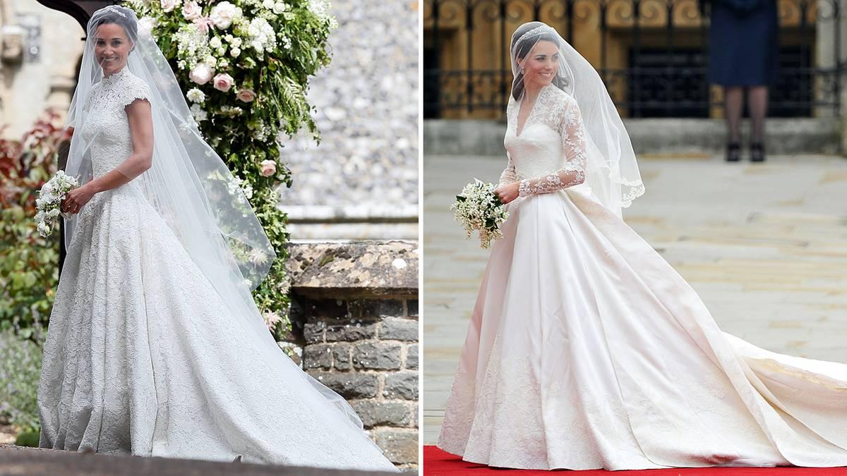 Der Mann, das Kleid, die Kirche: Die Hochzeiten von Pippa und Kate ...