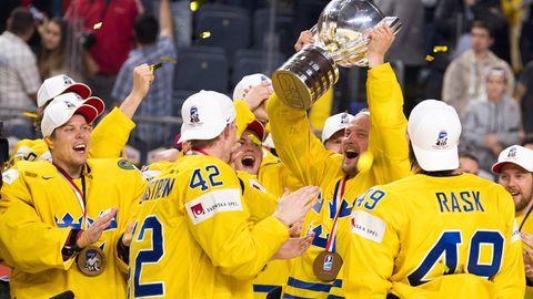 Eishockey-WM: Schweden bejubelt den Titelgewinn über Kanada