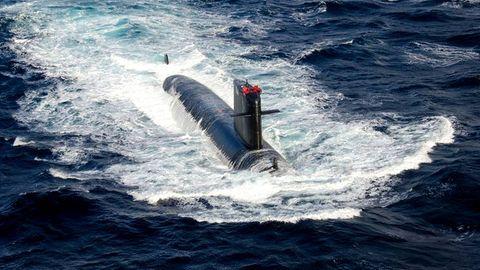 Die Saphir ist das zweite Boot der Rubis-Klasse (SNA72). Sie sind die kleinsten und kompaktesten Atom-U-Boote der Welt.