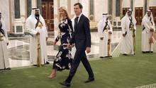 Ivanka Trump und Jared Kushner begleiten US-Präsident Donald Trump auf seiner ersten Auslandsreise
