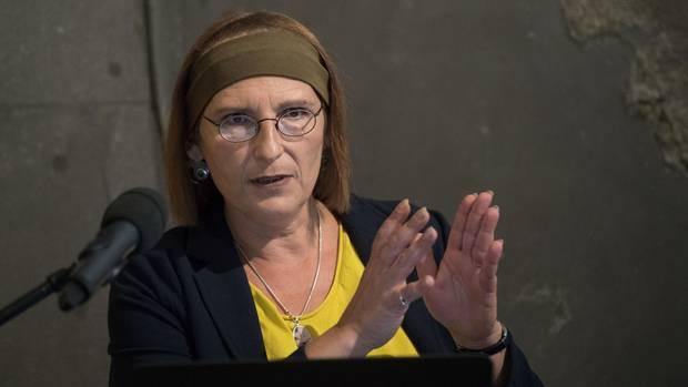 Madelaine Böhme von der Universität Tübingen, die Wissenschaftlerin sieht den Ursprung der Menschheit in Europa