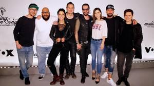 """Die Besetzung der diesjährigen Staffel von """"Sing meinen Song - Das Tauschkonzert"""" auf VOX beim Fototermin in Berlin"""
