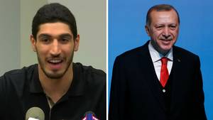 Enes kanter und Erdogan