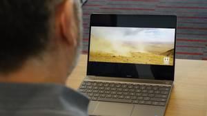 Das Huawei Matebook X ist das erste Notebook mit Dolby-Atmos-Unterstützung.