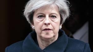 Die britische Premierministerin Theresa May: