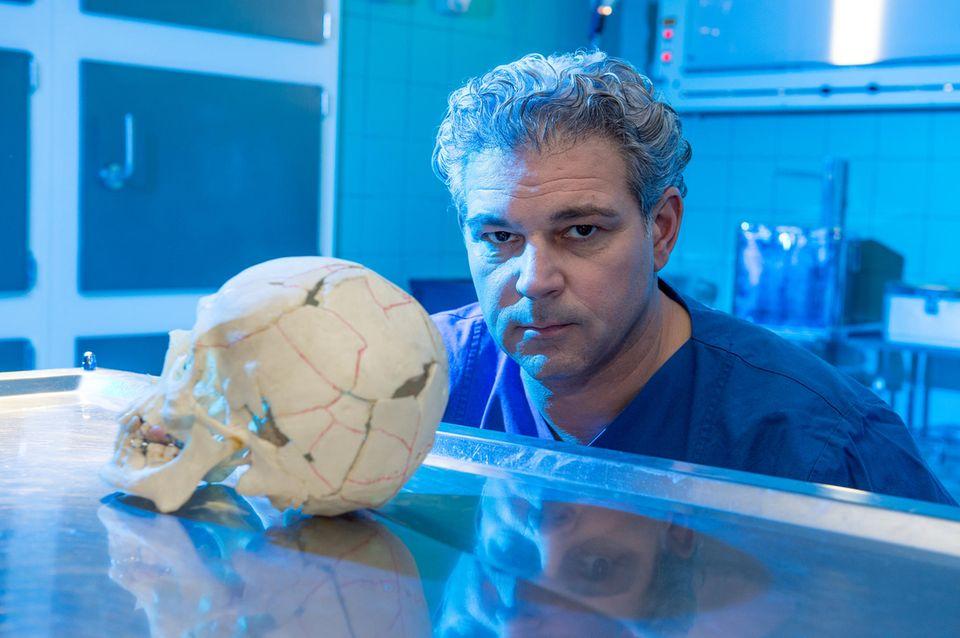 Macht das Thema Rechtsmedizin populär: Professor Michael Tsokos