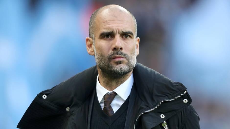Pep Guardiola ist Trainer von Manchester City