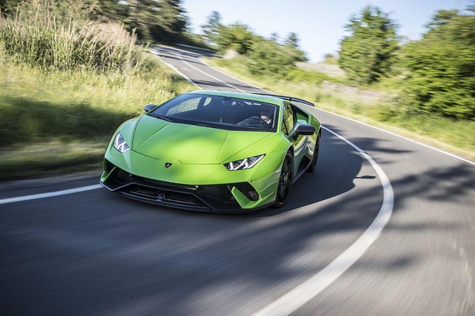 Lamborghini Huracan Performante - 0 auf 100 in 2,9 Sekunden