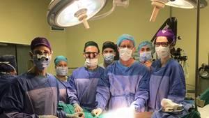 Mediziner der Stellenbosch University (SU) und des Tygerberg Academic Hospital in Kapstadt nahmen den komplizierten Eingriff vor
