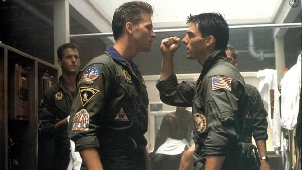 Val Kilmer in einer Szene mit Tom Cruise