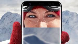 Das Galaxy S8 lässt sich mit der Iris entsperren - das Verfahren konnten Experten nun umgehen.