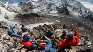 Der Mount Everest ist bei Bergsteigern beliebt