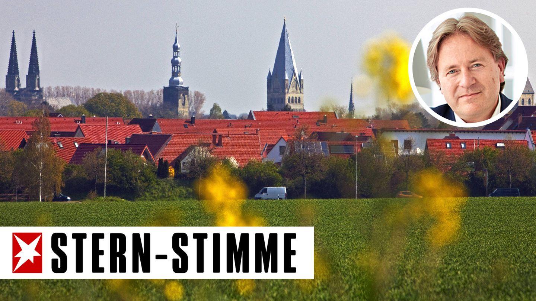 Panorama von Soest in Westfalen
