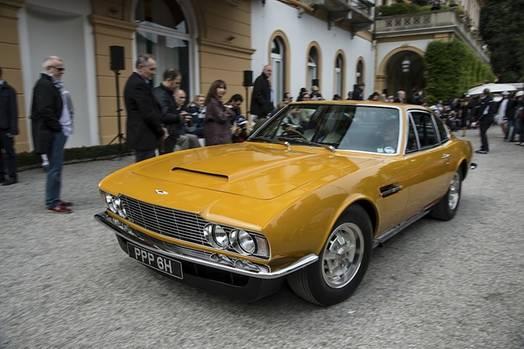 """Aston Martin DBS aus der Fernsehserie """"Die Zwei"""" - Roger Moores Wagen in seiner Rolle des Lord Sinclair"""