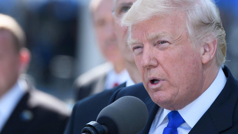 US-Präsident Donald Trump in der belgischen Hauptstadt Brüssel