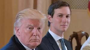 US-Präsident Donald Trump und sein Schwiegersohn Jared Kushner