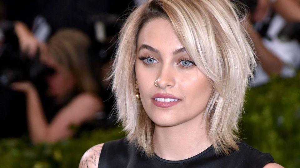 Paris Jackson, die Tochter des verstorbenen Popstars Michael Jackson, bei einer Gala in New York