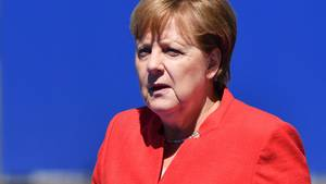 Angela Merkel in Brüssel