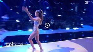 Heidi Klum beim Finale von GNTM
