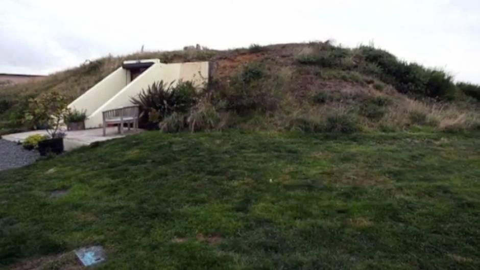 Vorher-Nachher-Bilder: Engländerin gestaltet alten Bunker zu moderner Wohnung um