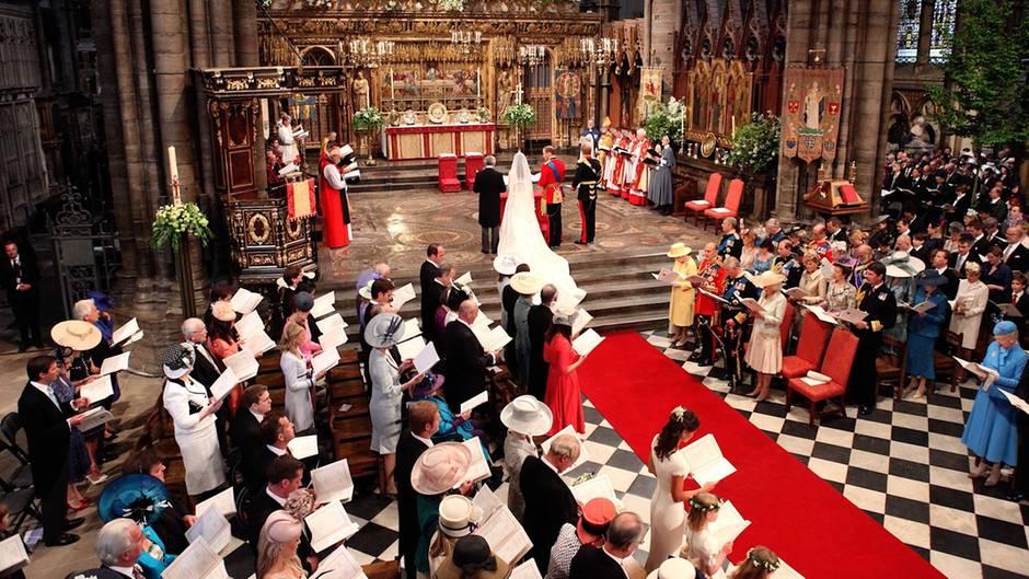 Britisches Königshaus: So schön war die Traumhochzeit von Kate und William