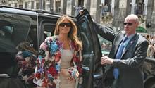 Melania Trump Sizilien