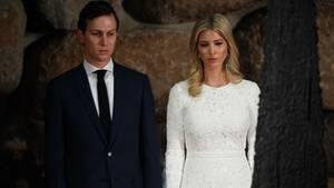 Jared Kushner mit seiner Frau, Ivanka Trump