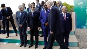 Donald Trump Gruppenbild G7