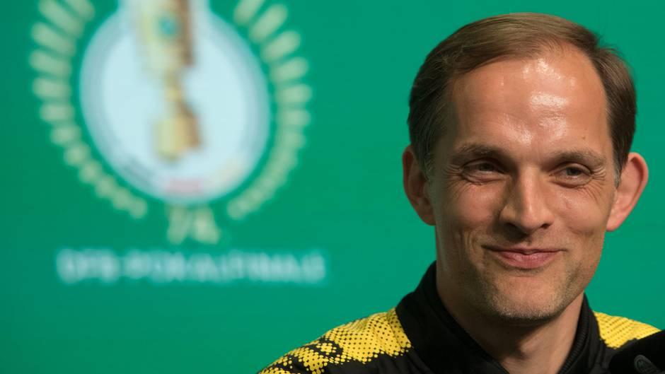 Macht Thomas Tuchel beim DFB-Pokal-Finale sein letztes Spiel als Trainer des BVB?
