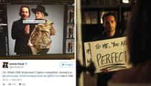 """Endlich gibt's die Fortsetzung von """"Tatsächlich... Liebe"""" zu sehen. Schauspieler Andrew Lincoln ist mit seiner handgeschriebenen Karten – und neuer Ehefrau zu sehen ..."""