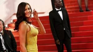 Model Irina Shayk ist nur wenige Wochen nach der Geburt ihrer Tochter fast so schlank wie vor der Schwangerschaft