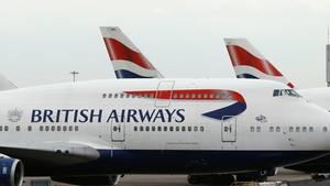 Maschinen von British Airways
