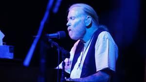 Gregg Allman bei einem Auftritt vor gut einem Jahr