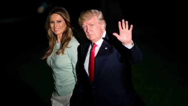 Donald Trump zurück in Washington