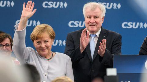Angela Merkel Seehofer